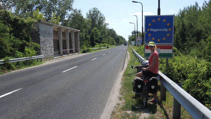Crossing the border to Hungary