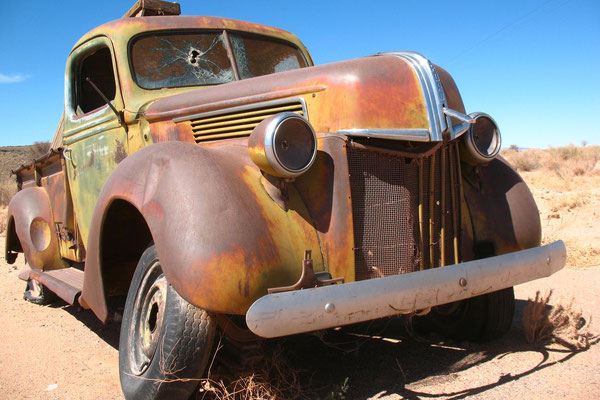 Old truck - Canyon Roadhouse - Namib Desert