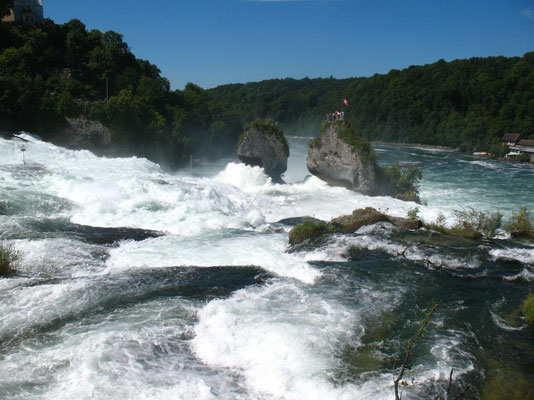 Rhine Falls at Schaffhausen - Lake Constance - Switzerland