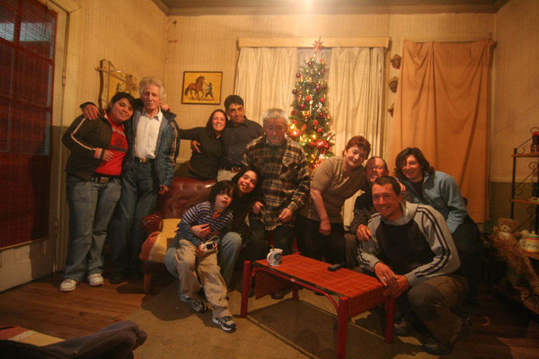 New Year´s Eve with Chila and her family - Puerto Natales