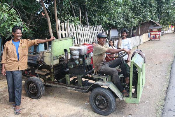 Selfmade car - Eastern Sumbawa