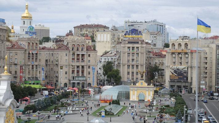 Maydan Nezalezhnosti - Kiev - Ukraine