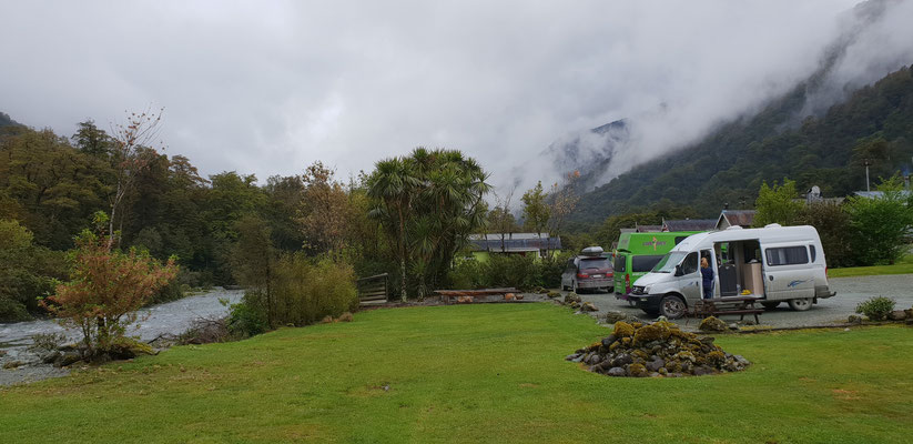 Gunn´s Camp - Fiordland Nationalpark - South Island