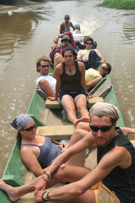 Floating on Yacuma River - Amazon Basin