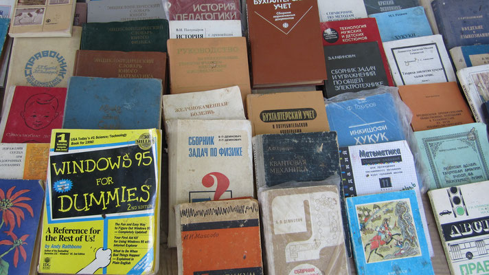 Used books for sale - Dushanbe - Tajikistan