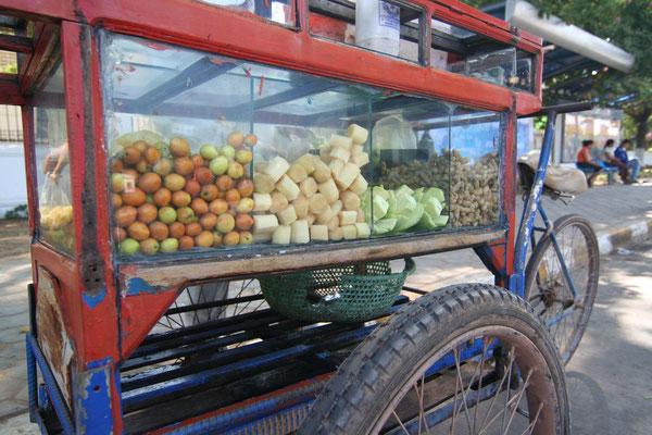 Snack vendor - Vientiane