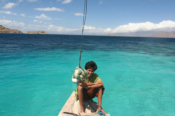 Saridin - fisherman from Sumbawa - Komodo
