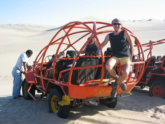 Dune buggy - Huacachina - Ica Province