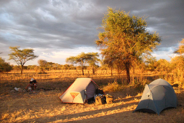 Camp at Serengeti National Park