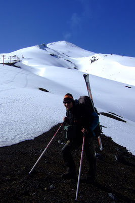 Climbing active Volcano Villarica - Pucon
