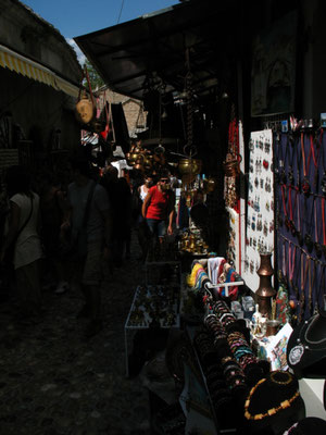 Souvenir stalls - Mostar - Bosnia and Hercegovina