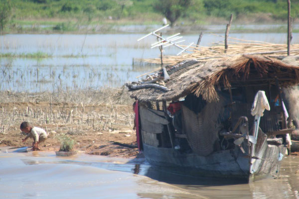 Houseboat - Sangkae River