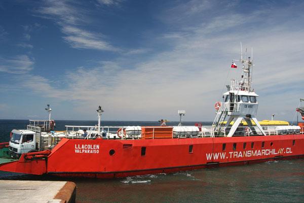 Ferry to Isla Grande de Chiloé