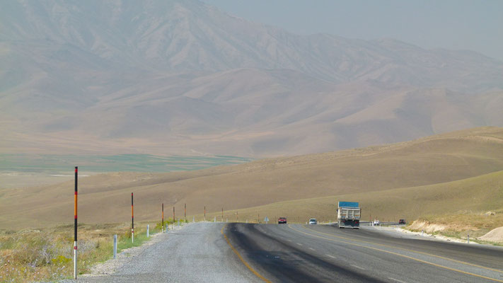 Highway south of Van - Southeastern Anatolia - Turkey