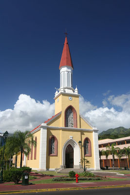 Cathedrale de l´Immaculee Conception in Pape´ete - Tahiti - French Polynesia