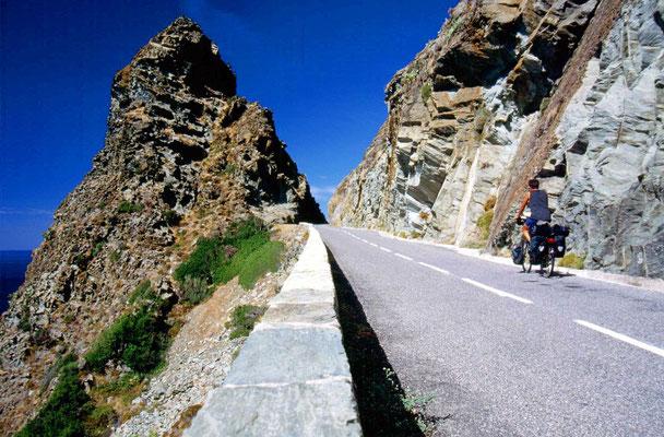 Cycling Cap Corse - Northeastern Corsica