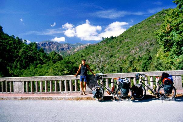 Near Aullène - Central Corsica