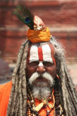 Sadhu at Durbar Square - Kathmandu