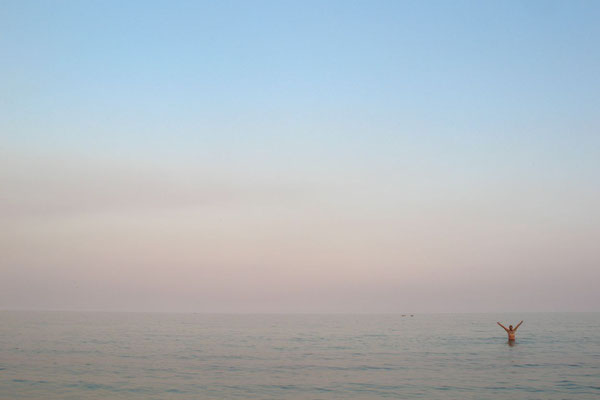 Dusk at Lake Malawi