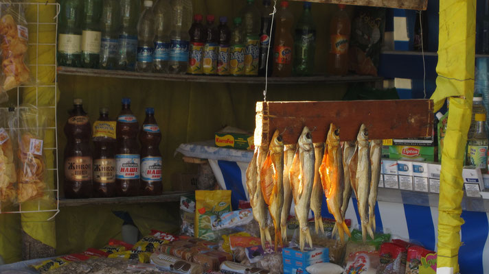 Store at Colpon-Ata - northern Issyk-Kul Lake - Kyrgyzstan