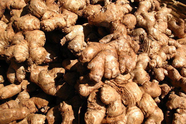 Ginger at Devaraja Market - Mysore - Karnataka