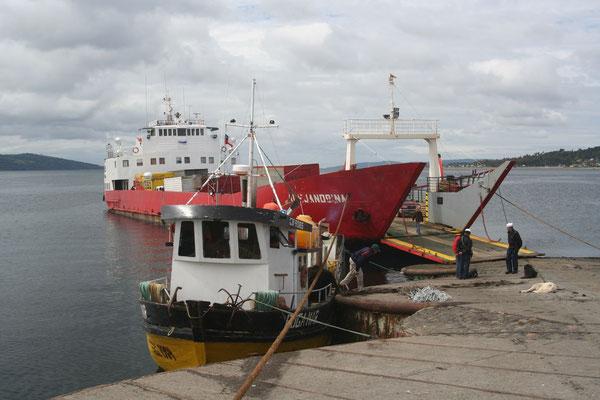 Ferry to Chaitén - Isla Grande de Chiloé