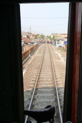 Surabaya to Jakarta train ride - Java