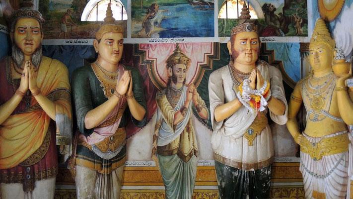 Temple at Jetavanarama Dagoba - Anuradhapura