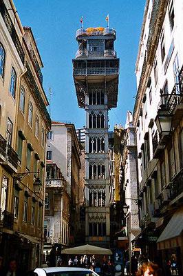 Elevator of Santa Justa - Lisbon
