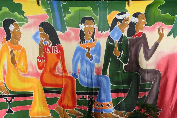 Polynesian art - Mo´orea