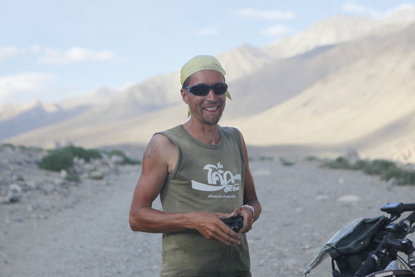 Me at Wakhan Valley - Tajikistan