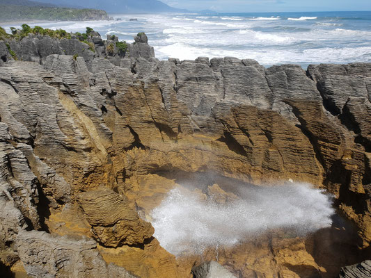 Pancake Rocks - Punakaiki Nationalpark - South Island
