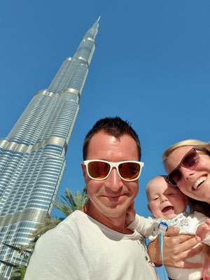 Burj Khalifa - The world´s tallest building - Dubai