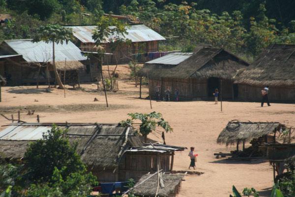 Roadside village - Luang Nam Tha Province - Northwestern Laos