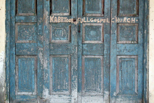 Abandoned gospel church - Kabatoro - Kasese Province
