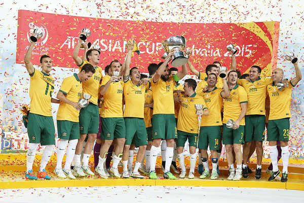 2015 Asian Cup Final at Stadium Australia