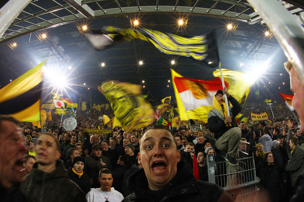2011 Dortmund Fan at Signal Iduna Park