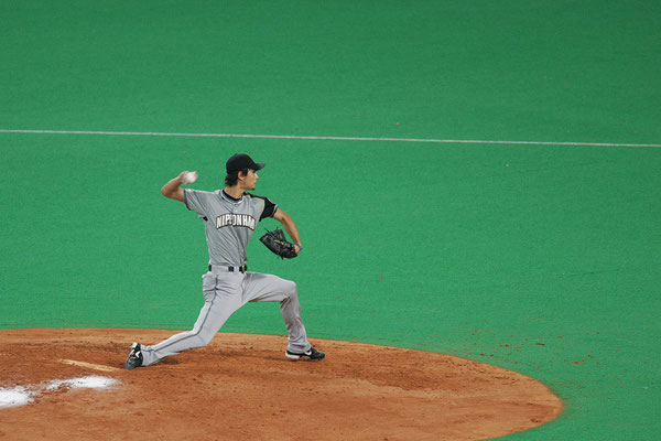 2006 NipponSeries Yu Darvish at Nagoya Dome