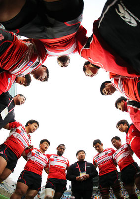 2013 SEVENS Japan National Team at Chichibunomiya Rugby Stadium
