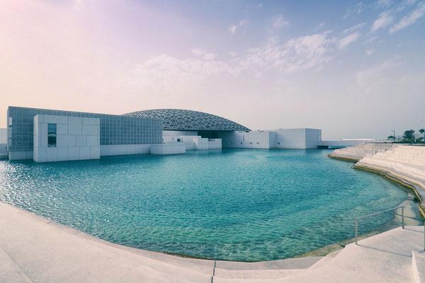 Louvre Abu Dhabi, U.A.E.