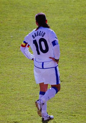2003 Roberto Baggio at Stadio Carlo Castellani