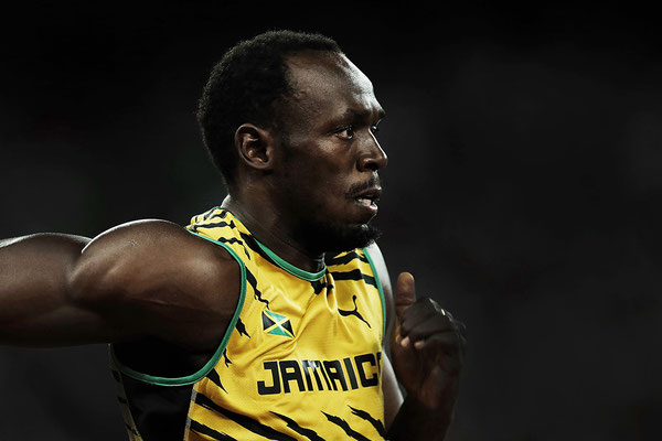 2015 Usain Bolt at Beijing National Stadium