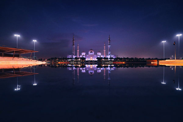 Sheikh Zayed Grand Mosque, Abu Dhabi, U.A.E.