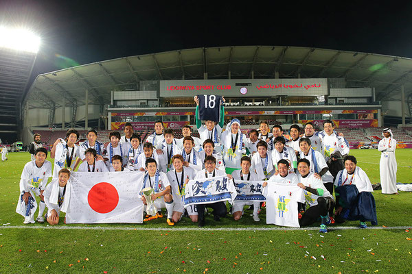 2016 U23 Japan at Abdullah Bin Khalifa Stadium