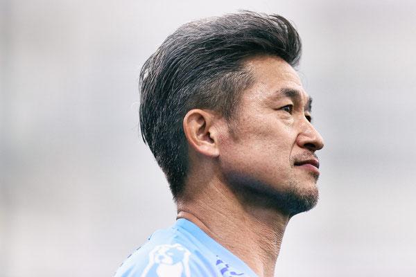 2020 Kazu Miura at Mitsuzawa Football Stadium