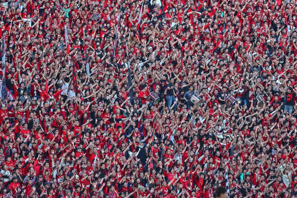 2013 Urawa Reds Fan at Saitama Stadium 2002