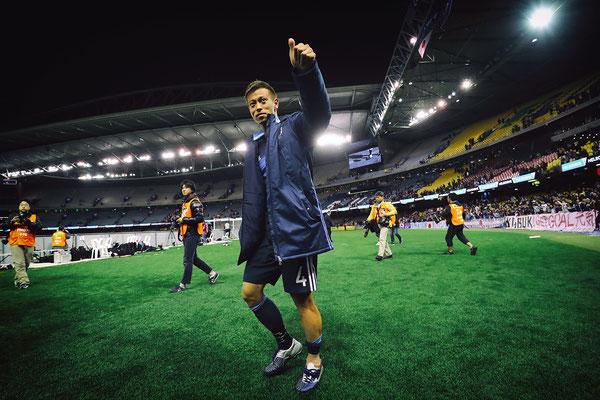 2016 Keisuke Honda at Docklands Stadium, Melbourne