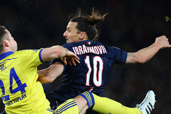 2015 Zlatan Ibrahimovic at Parc des Princes