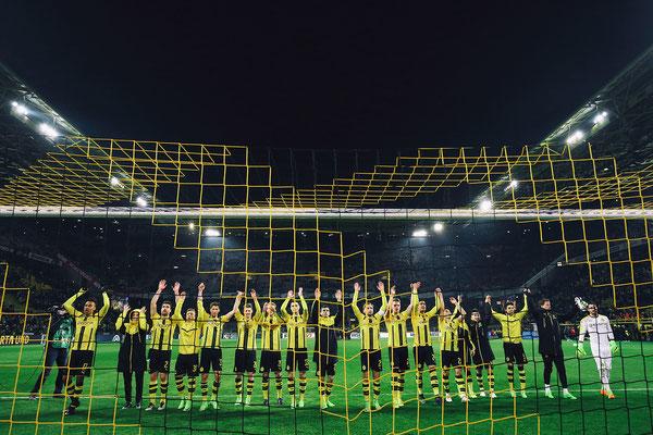2017 Borussia Dortmund at Signal Iduna Park