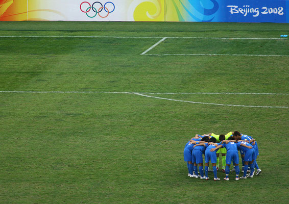 2008 U-23 Japan Football at Shenyang Olympic Sports Center Stadium